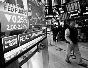 ФРС США впервые со времен кризиса 2008 года снизила ставку