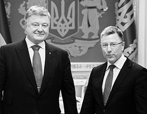 Неясно, будет ли Волкер защищать Порошенко чисто за деньги или по идейным соображениям