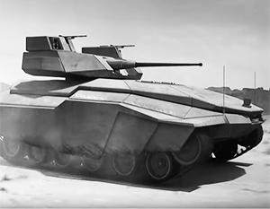 Проект израильского легкого танка – возможно, образец танка ближайшего будущего