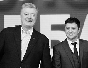 Разница между Порошенко и Зеленским становится все менее заметной