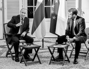 Два президента говорили о вечном и неизбежном