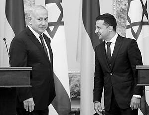 Нетаньяху, похоже, решил свои задачи в Киеве. Выиграл ли от встречи Зеленский?