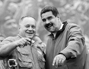 Диосдадо Кабельо и Николас Мадуро