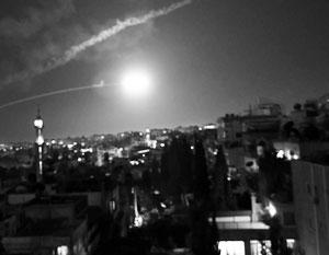 Дамаск подвергся атаке с воздуха