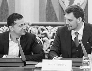 Владимир Зеленский очень рассчитывает на нового украинского премьера – Алексея Гончарука