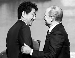 Синдзо Абэ и Владимир Путин хотят договориться