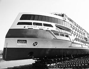 Современные круизные лайнеры выводят речной флот России на новый уровень