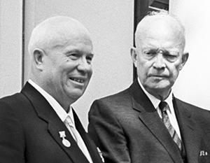 Эйзенхауэра разозлил подарок Хрущева, но к советскому лидеру он все же отнесся с симпатией