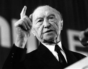 Конрад Аденауэр понимал, куда он ведет Германию
