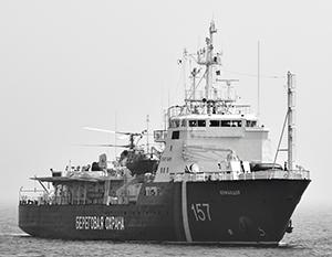 Экипаж корабля нашей береговой охраны оказался жертвой нападения браконьеров из КНДР