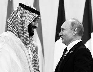 За последние четыре года принц Мухаммед бин Салман пять раз приезжал к Владимиру Путину