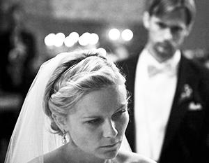 Американские жених и невеста - все старше и все богаче
