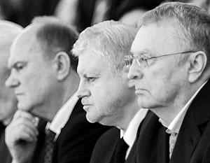 Зюганов, похоже, обогнал Жириновского и Миронова по количеству популистских поправок к Конституции