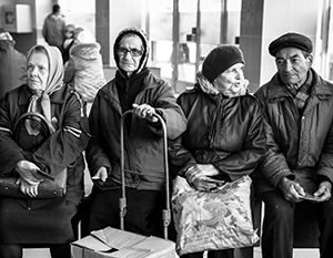Украинское государство обещает снова платить пенсии жителям ДНР и ЛНР