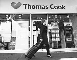 Компания Томаса Кука не пережила новейших веяний в туристическом бизнесе