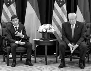 Владимир Зеленский не может отказать Трампу