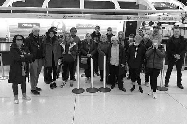 Граждане России в аэропорту Нью-Йорка просят о помощи