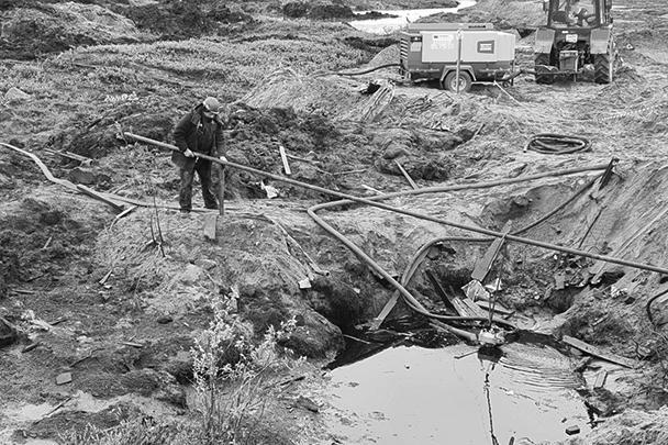 На месте экологической катастрофы в Норильске продолжаются интенсивные работы по ликвидации ее последствий