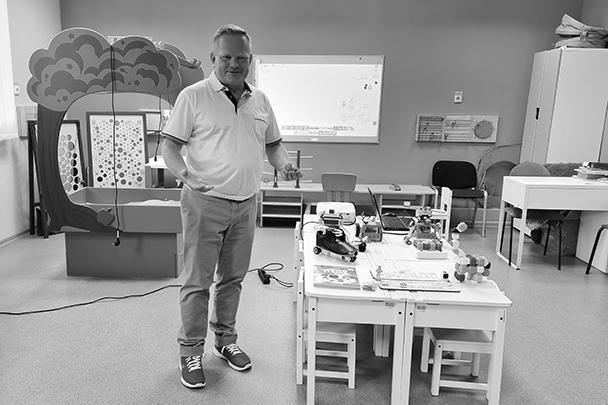 Директор дома юношеского технического творчества Владислав Халамов