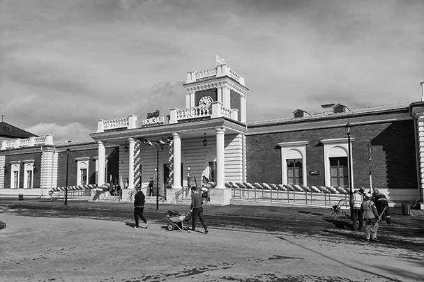 Сосногорск. Так выглядит новый железнодорожный вокзал