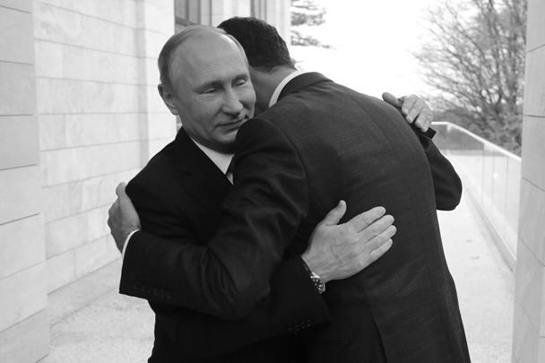 Владимир Путин провел в Сочи встречу с сирийским лидером Башаром Асадом. Переговоры продолжались около четырех часов. В ходе встречи президенты согласились, что военная операция близка к завершению и теперь следует перейти к политическому урегулированию. Президент Сирии также передал Путину благодарность сирийского народа