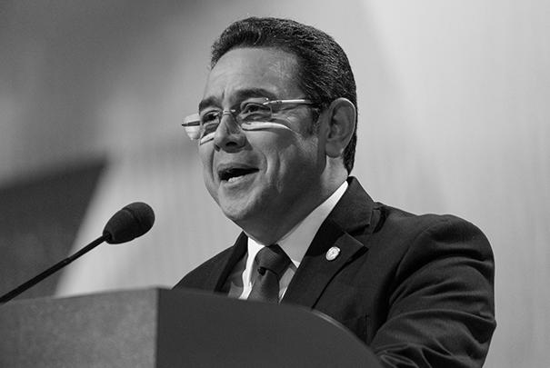 Президент Гватемалы Джимми Моралес