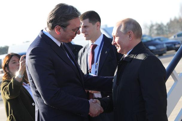Вучич объявил о начале строительства сербского участка «Турецкого потока»