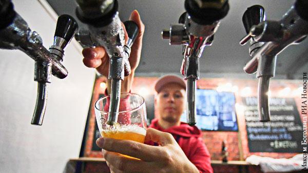 Экономика: «Крафтовое пиво» стало жертвой безграмотности чиновников