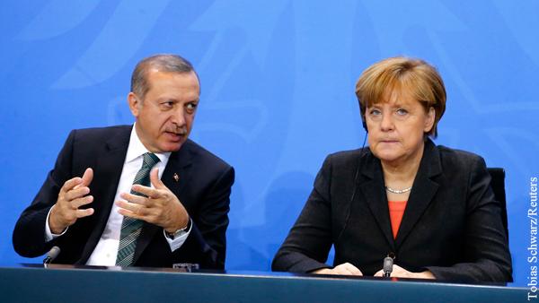 Эрдоган выдвинул Меркель ультиматум