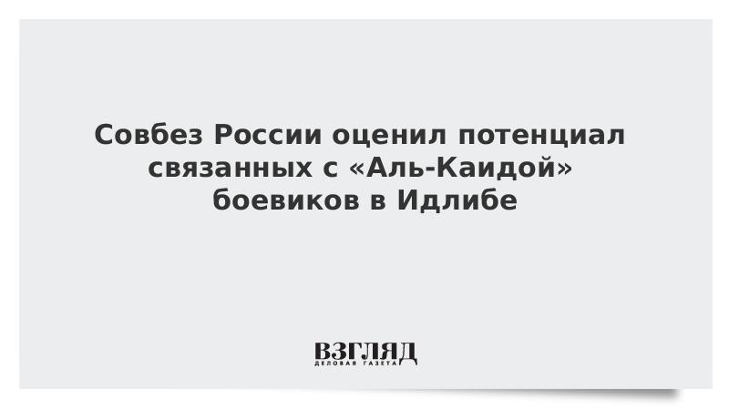 Совбез России оценил потенциал связанных с «Аль-Каидой» боевиков в Идлибе