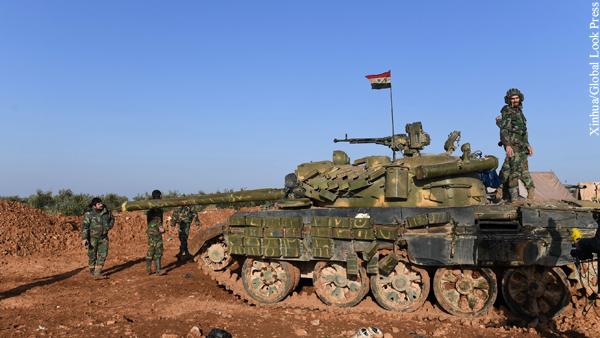 Сирийская армия вошла в город Манбидж на севере провинции Алеппо