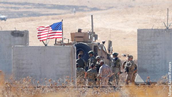 Войска США попали в «ловушку» между армиями Сирии и Турции