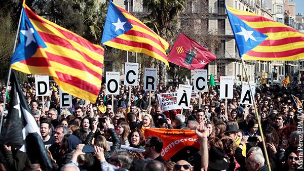 Вынесен приговор организаторам референдума о независимости Каталонии
