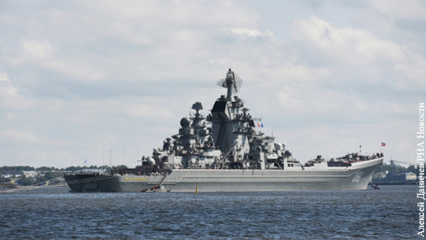 В Сети высмеяли конгрессмена за фото с крейсером «Петр Великий»