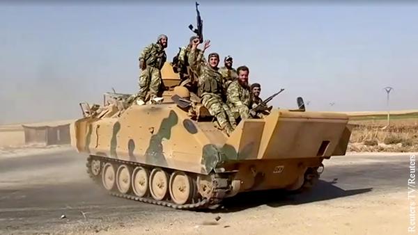 Сирийская армия вошла в город Айн-Иса