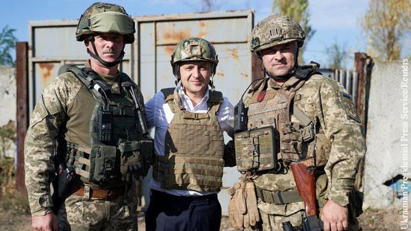 Мнения: Зеленский сделал выбор в пользу войны