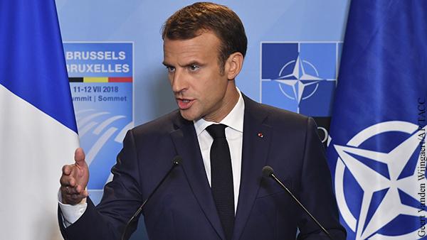 Макрон должен вывести Францию из НАТО