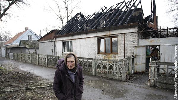 Киев демонстрирует бредовый подход к возвращению Донбасса