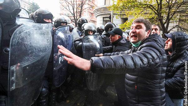 Грузинская власть прошла проверку Майданом