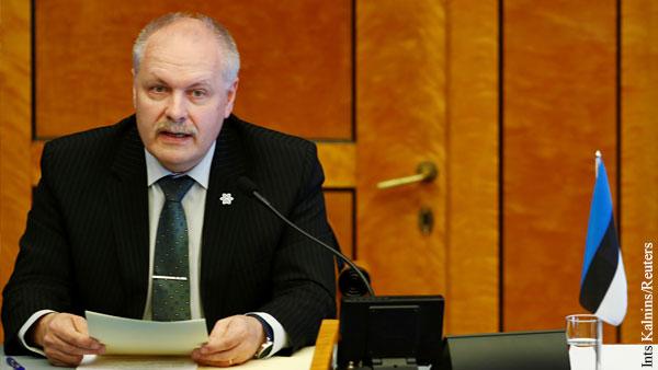 В Эстонии потребовали от России вернуть «аннексированные территории»