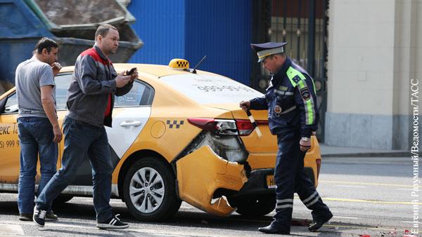 Таксисты объяснили рост числа ДТП с их участием