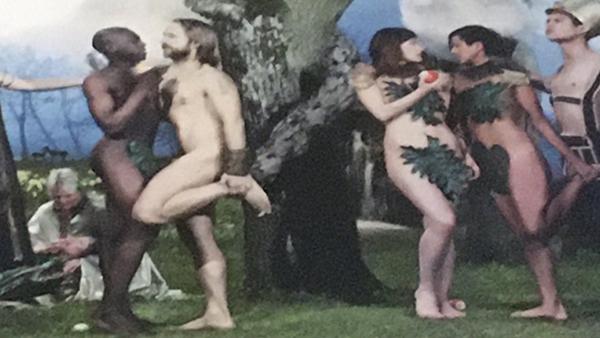 В шведской церкви появился алтарь с раем для секс-меньшинств