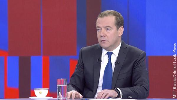 Медведев выдвинул условие соглашения с Украиной по газу