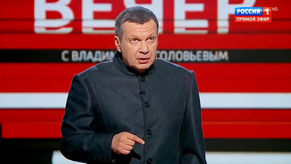 Соловьев напомнил предупреждение Путина о последствиях эскалации в Донбассе