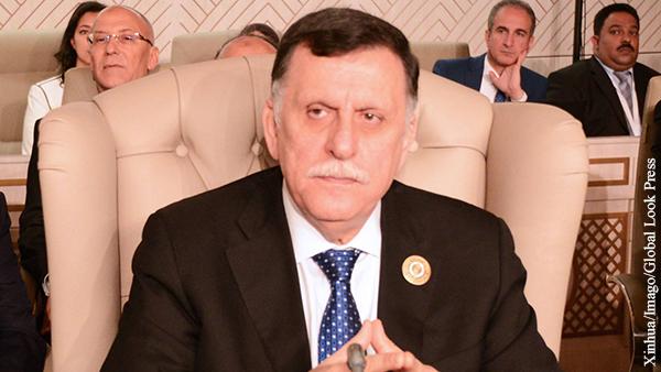 Глава ПНС Саррадж отказался встречаться с Хафтаром в Москве