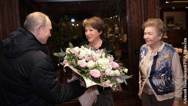Путин заехал в гости к дочери Ельцина на ее день рождения