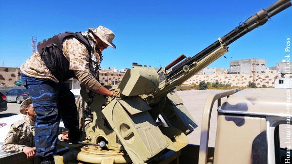 Ливию решили призвать к прекращению огня и запрету на переброску войск