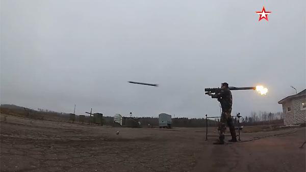 Появилось видео поражения мишени комплексом «Игла-С»