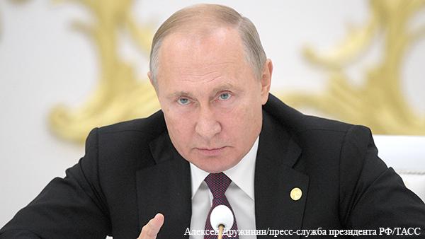 Путин пообещал «заткнуть поганый рот» тех, кто хочет переиначить историю