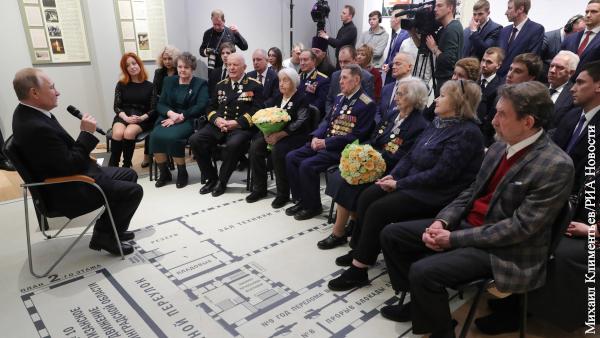 Путин ответил на вопрос о бессрочном пребывании президента у власти